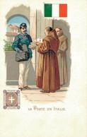 H1209 - Illustrateur - LA POSTE En ITALIE - Timbres (représentations)