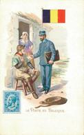 H1209 - Illustrateur - LA POSTE En BELGIQUE - Timbres (représentations)