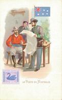 H1209 - Illustrateur - LA POSTE En AUSTRALIE - Timbres (représentations)