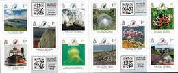"""MAN, ISLE Of  -EUROPA 2021 -ENDANGERED NATIONAL WILDLIFE""""-  SET Of 10 STAMPS SELF-ADHESIF From BOOKLET.- """"CALF Of MAN"""" - 2021"""
