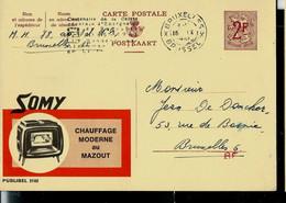 Publibel Obl. N° 2102  ( SOMY, Appareil De Chauffage Mazout) Obl . - Publibels