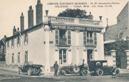 Orléans (45 Loiret) Comptoir Electrique Orléanais 38 Bd Alexandre Martin - Voiture Publicitaire Lampe Mazda - édit LL - Orleans