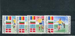 "Roumanie 1990 Yt 3878-3881 ""Italia '90"" - Usati"