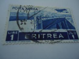 ERITREA  USED   STAMPS  BRIDGE  AIPLANES - Eritrea