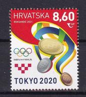 CROATIA 2021,OLYMPIC GAMES TOKYO 2020,MNH - Summer 2020: Tokyo