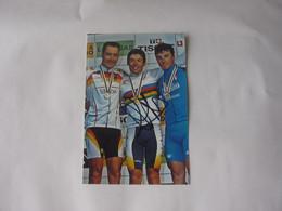 Cyclisme - Autographe - Photo Signée Oscar Freire - Cycling