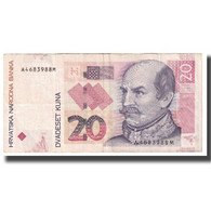 Billet, Croatie, 20 Kuna, 2001, 2001-10-07, KM:39, TB - Croatia