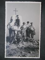 1953 RARA CPA FOTO MONTE DENTE VETTA RADUNO ESCURSIONISTICO PRO LOCO MASONE - Luoghi