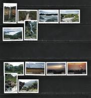 Uganda 1995.Waterfalls+Landscapes-12 V.MNH - Uganda (1962-...)