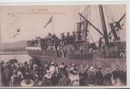 """Ajaccio-Le """"BALKAN"""" Dans Le Port (torpillé En Aout 1918) - Ajaccio"""