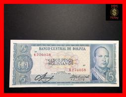 BOLIVIA 5 Pesos Bolivianos  1972   P. 153   UNC- - Bolivia