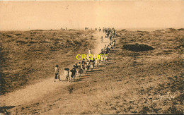 85 Longeville, Camp De L'Alouette, Arrivée à La Plage, Carte Pas Courante - Autres Communes