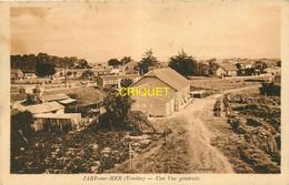 85 Jard Sur Mer, Une Vue Générale, Carte Pas Courante, Affranchie Pétain1943 - Sonstige Gemeinden