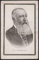 ROYALTY / Belgium / Belgique / België / Doodsprentje / Roi Leopold II / Koning Leopold II / 1909 / 2 Scans - Religion & Esotericism