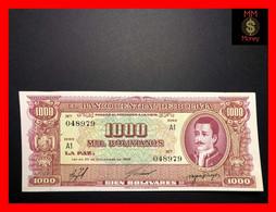 BOLIVIA  1.000  1000 Bolivianos  1960   P. 149    AU - Bolivia