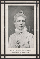ROYALTY / Belgium / Belgique / België / Doodsprentje / Reine Marie Henriette / Koningin Marie Henriette / 1902 / 2 Scans - Religion & Esotericism