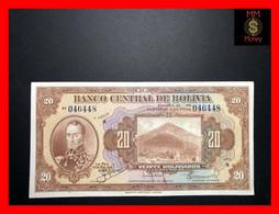 BOLIVIA  20 Bolivianos   1935   P. 122    XF + - Bolivia