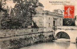 SCORBE CLAIRVAUX LES DOUVES DU CHATEAU 1912 TBE - Scorbe Clairvaux