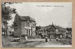 44  LA  BAULE    PLACE  DE  LA  GARE - La Baule-Escoublac
