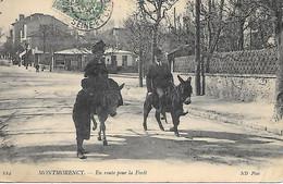 A/420               95     Montmorency            En Route Pour La Foret - Montmorency