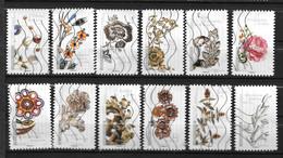 2017 - 179 - 1410 à 1421 - Fleurs Et Métiers D'Art - Gebruikt