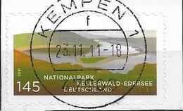 2011 Deutschland Germany  Mi. 2863 Used   Nationalpark Kellerwald-Edersee - Gebraucht