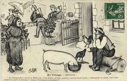 C Lestin Au Village Jalousie  Cochon RV - Humour