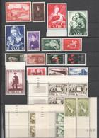 Saarland , Lot Mit Postfrischen Marken , Dabei Druckdaten - Ongebruikt