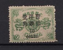 China - Sc 35 (1879)  * MH - Unused Stamps