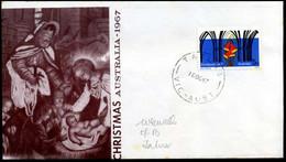 Australia - FDC - 1967, Christmas - FDC