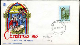 Australia - FDC - 1968, Christmas - FDC
