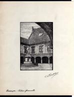Lithographie Besançon Palais Granvelle Signée C. Richter Très Rare V.Expl - Lithographies