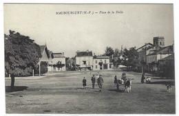 MAUBOURGUET (65) - Place De La Halle - Ed. Vve Dandreau, Bural. - Maubourguet