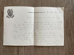 Brief - Norbertijner Abdij Tongerlo (Antw.) 1957 - Constant (Winnepenninckx) (fr. Herwig) / Fons En Germaine (Berg) - Other