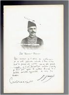 JOSEPH ZANNI 1855 1934 CONSTANTINOPLE ISTANBOUL TURQUIE CHIMISTE PHARMACIEN PORTRAIT AUTOGRAPHE BIOGRAPHIE ALBUM MARIANI - Documents Historiques