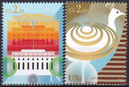 UNO GENF 2014 Mi-Nr. 860/61 ** MNH - Ungebraucht