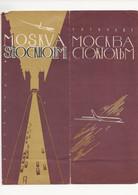 DÉPLIANT    MOSKVA  STOCKHOM - Zonder Classificatie