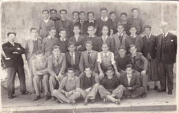 SETE/CARTE PHOTO/ECOLE V.HUGO MAI 1938 (ID36) - Photographie