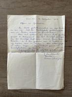 Brief - Eizer (Overijse) 1957 - J. LOMBAERTS Pastoor / Alfons En Germaine (Verstraeten - De Cremer) (Berg) - Other
