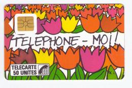 France Télécarte Phonecard 1987 F9 SO2 Naifs Et Primitifs Téléphone Moi - 1987