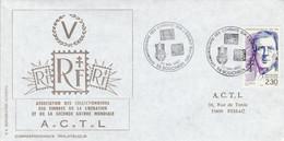 50 ANS DES COMBATS SUR L'ESCAULT à BOUCHAIN NORD 1990 - Commemorative Postmarks