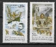 Hongrie 1994 N° 3454/3455 Neufs Europa Les Découvertes - 1994