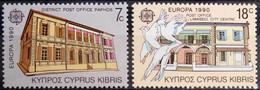 EUROPA Chypre Yv 746/7 MNH Neufs** - - 1990