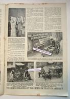 """Magazine Belge Avec 2 Articles """"En Amérique, Belgian Police Dogs Puppies For Sale, Bataille Mont Kemmel"""" 1921 - Collections"""