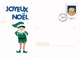 PRET A POSTER PERE NOEL 2019 - Prêts-à-poster: Other (1995-...)
