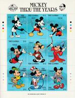 GAMBIE - N°768/776 ** (1989) Walt Disney : Mickey - Gambia (1965-...)
