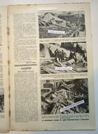 """Magazine Belge Avec  Article """"Le Déraillement Criminel Du Rapide Amsterdam-Paris à Hennuyères"""" 1921 - Collections"""