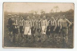 29 Fouesnant Carte Photo Equipe De Football Avant Le Match Odet Fouesnant 1931 - Fouesnant