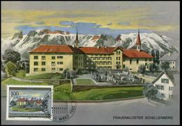 Liechtenstein - MK - Frauenkloster Schellenberg - Cartoline Maximum