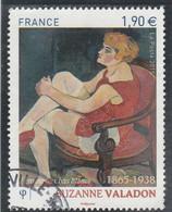 FRANCE 2015 SUZANNE VALADON OBLITERE - YT 4977   - - Usati